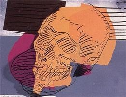 skulls [ii.157] by andy warhol